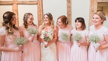 Spring wedding at Easton Grange