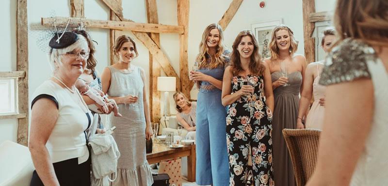 Wedding Changing Room. Alternative Essex wedding venue - Easton Grange luxury barn wedding venue