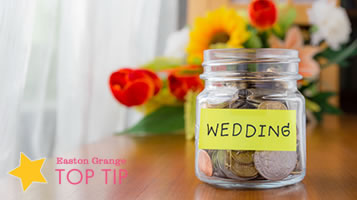 Budget friendly weddings - top tips