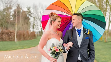 Michelle & Ian - an Easton Grange wedding