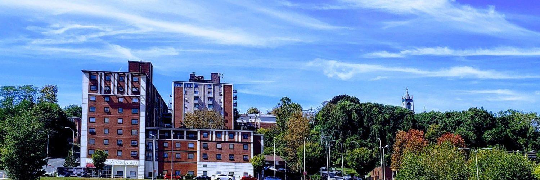 View of 185 South Third Street, Easton PA