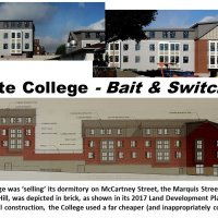 "Lafayette College: the Good Old ""Bait & Switch"""