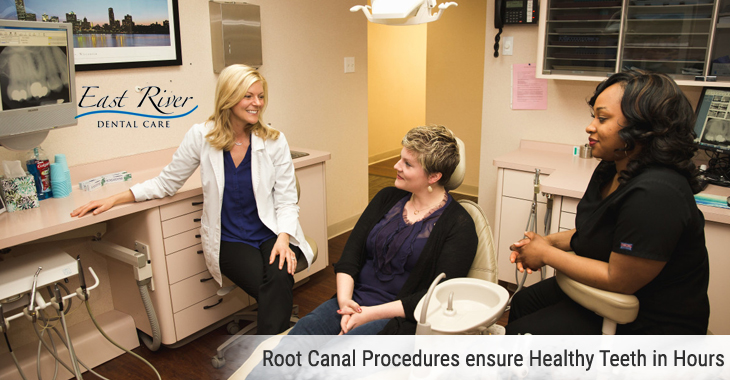 Root Canal Procedures ensure Healthy Teeth in Hours