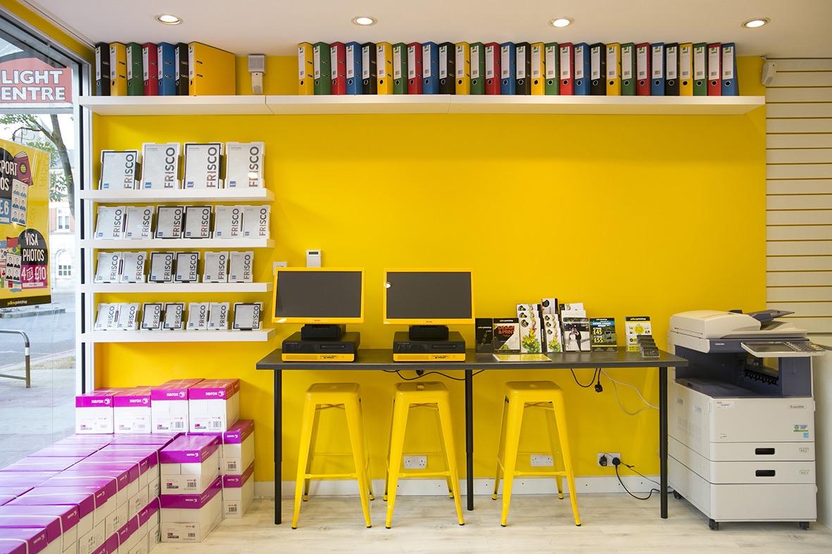 Yellow Print Shop East Sheen Village