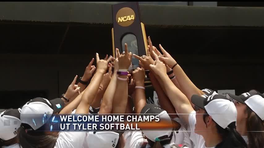 UT Tyler Softball Comes Home as National Champs_21403911-159532