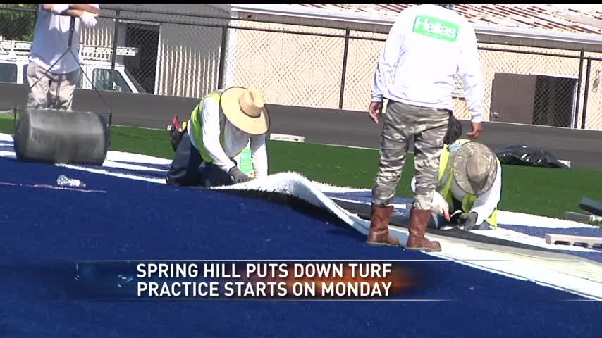 Spring Hill gets new turf- upgrades stadium_54511157-159532