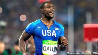USA men's 4x100 team disqualified