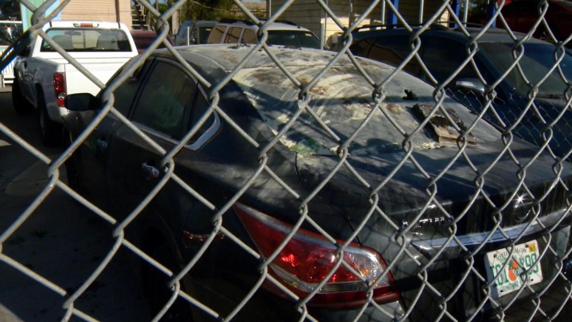Florida Man Fire-Bombs Own Car