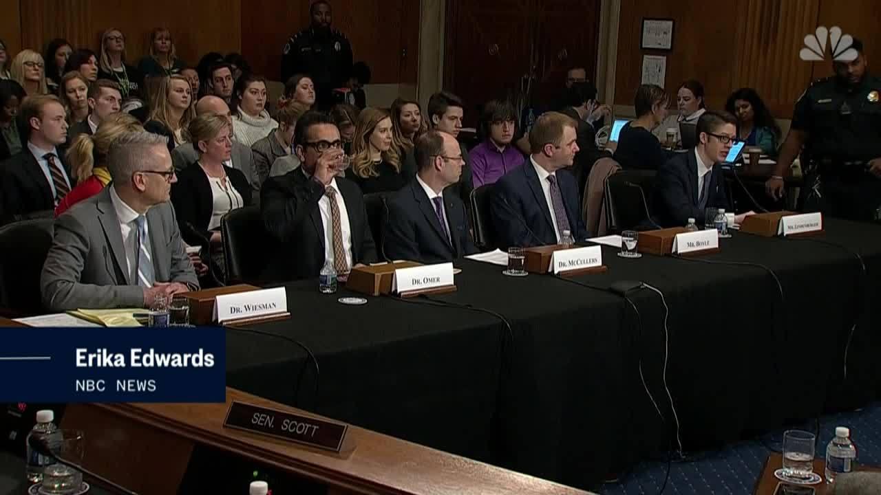 Vaccine Debate Hits Capitol Hill