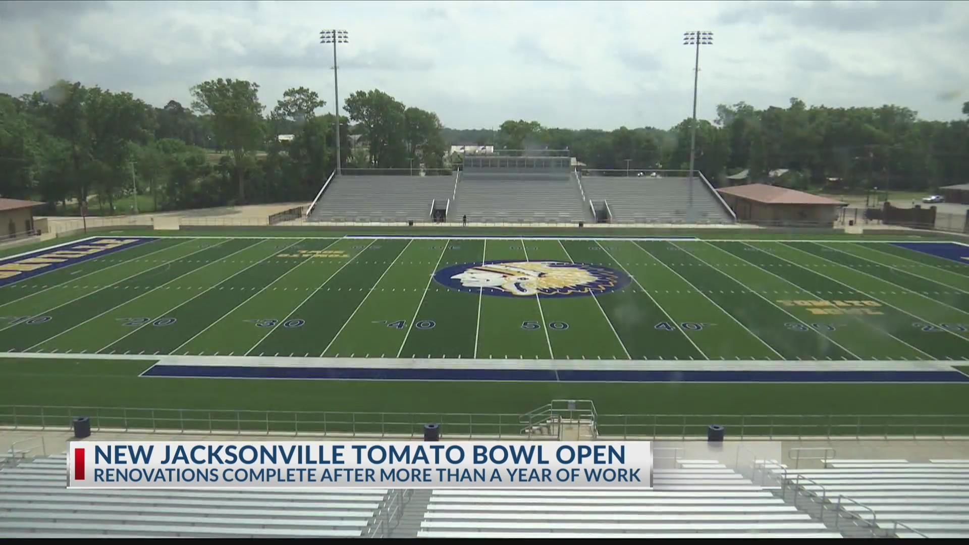 New Tomato Bowl finally open