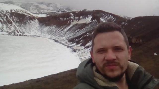 Krafla vulkan