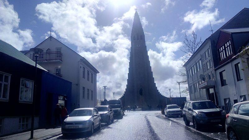 Rejkjavik Hallgrímskirkja crkva
