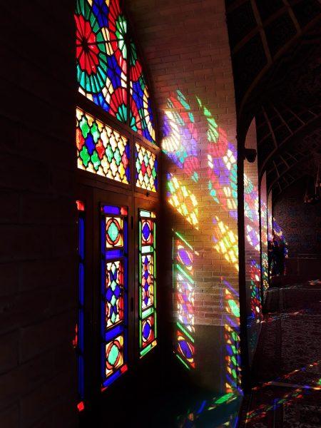 Iran Širaz Nasirolmolk džamija