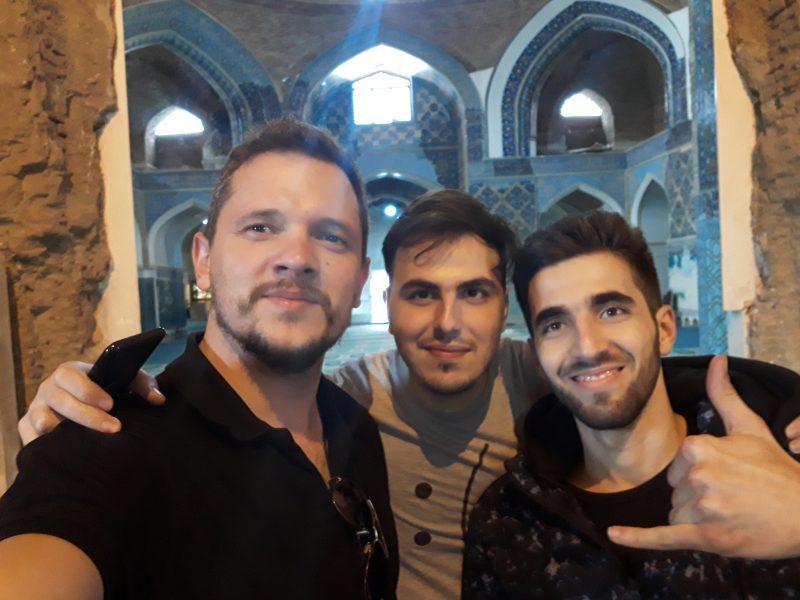 Iran Tabriz plava džamija