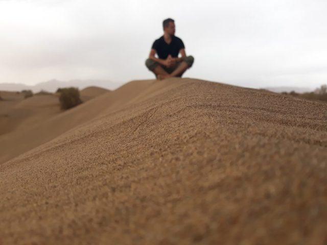 U pustinju, Mesr, Iran