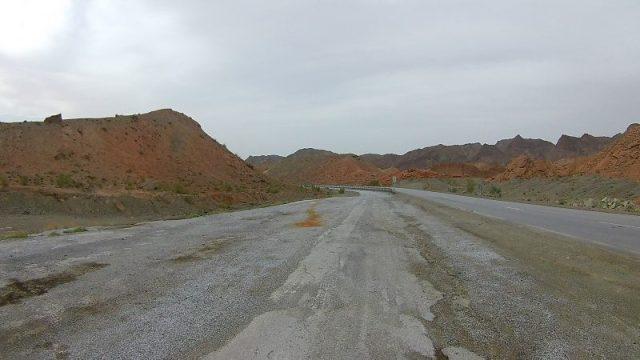 Iran pustinja stopiranje
