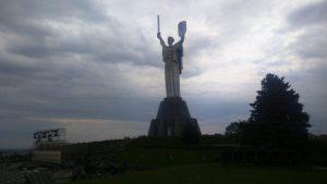 Kijev Ukrajina rodina mat spomenik majci otadžbini