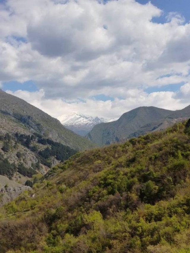 Prizren pogled sa tvrđave na Šaru