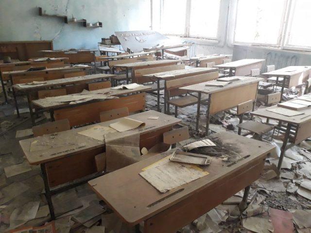Pripjat škola