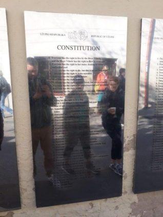 Viljnus Užupis Ustav