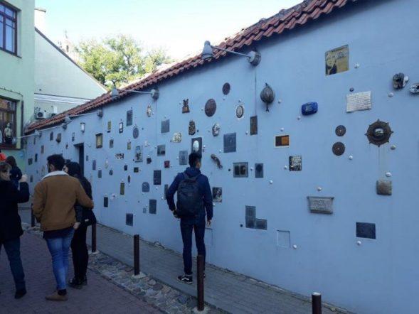 Vilnjus ulica književnosti