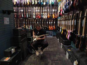San Frncisko - Guitar center