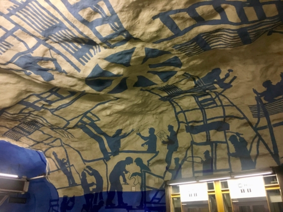 what to do in stockholm , stockholm metro station
