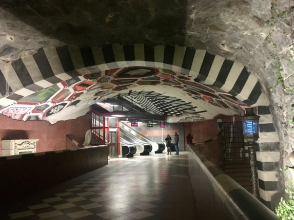 what to do in stockholm, stockholm metro station