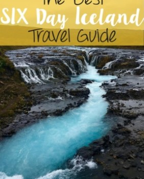 6 day iceland itinerary pinterest city guide