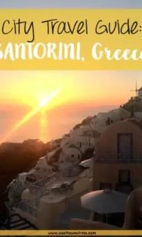 what to do in santorini pinterest