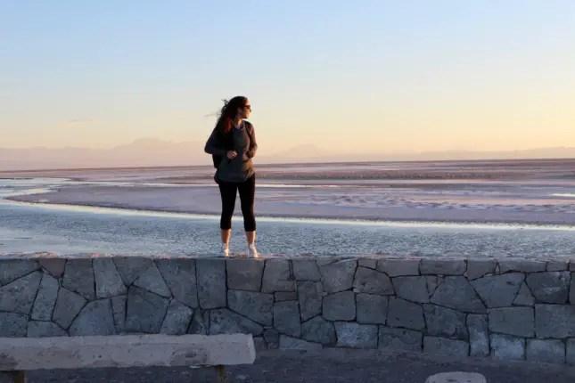 chaxa lagoon sunset rachel