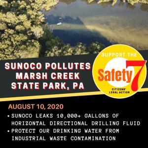 What A Fracking Disaster at Beautiful Marsh Creek Lake!