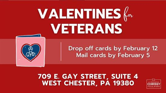 Valentines for Veterans Houlahan