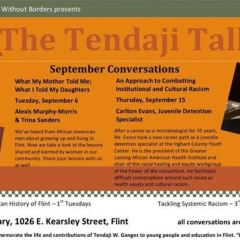 """Tendaji Talk"" turns to women of color remembering ""what my mother told me"""