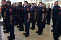 Mayor welcomes 33 new firefighters-in-training;  Station #8 expected to reopen