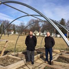 Village Life: Hoop house project seeds rebirth of community ed at Pierce School