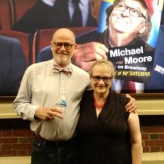 Review:  Love'im or hate'im, Michael Moore remembers Flint in rambunctious Broadway debut