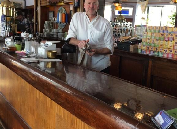 The fabric of Flint:  Good Beans owner Ken Van Wagoner weaves coffee, community spirit