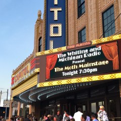 "Review:  Flint welcomes ""The Moth"" in celebratory night downtown"