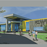 """""""Hire local,""""  union picketers urge at Flint Cultural Center Academy site;  FCCC: """"We did."""" Contractor:  """"We are local."""""""