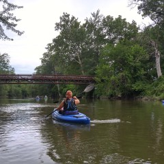 Paddlers Landing crowd-funding campaign succeeds, exceeds state match for thriving Mott Park Recreation Area