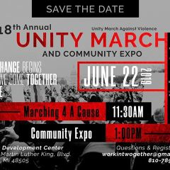 News Brief:  18th Annual Unity March set for 11:30 a.m. Saturday