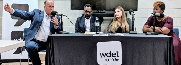 Kildee, Mays and Johnson discuss Flint water crisis at WDET panel