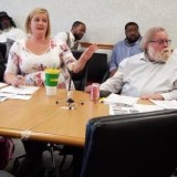 Flint City Council committee meeting yields single vote, yelling, call to police