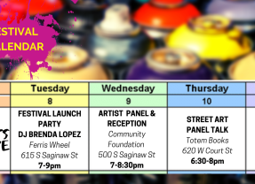 """Free City"" mural festival kicks off Tuesday for week-long street art extravaganza"
