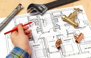 Plumber NYC with house plans