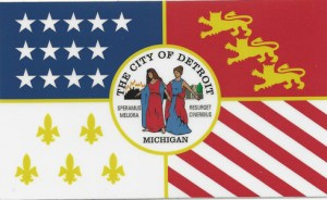 Detroit City Flag
