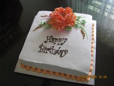 Mother S Birthday Cake
