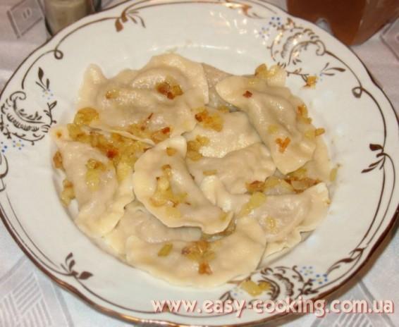 Рождественские вареники - Рецепт постных вареников - Кулинарный блог Катрусина кухня