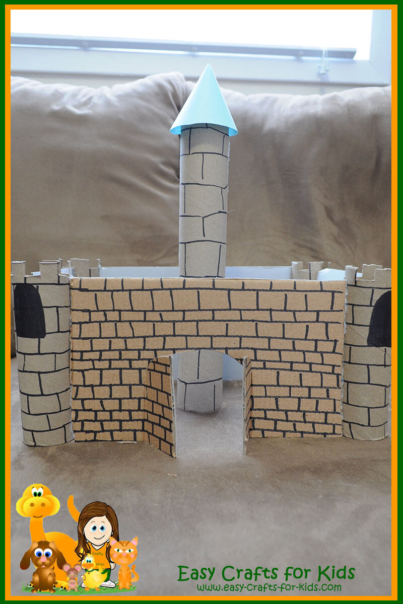 Medieval Crafts For Kids Your Very Own Castle Out Of